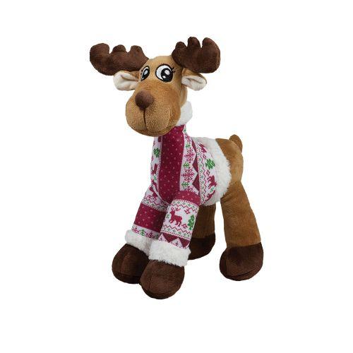 Плюшен Коледен музикален елен 35 см. 011228