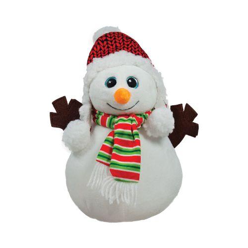 Плюшен снежен човек 25 см. 011230