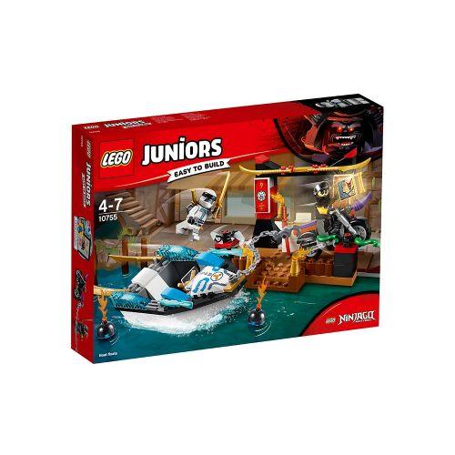 LEGO JUNIORS Преследване с лодката на Zane 10755