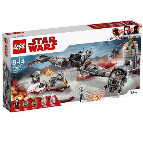 LEGO STAR WARS Защитата на Crait™ 75202