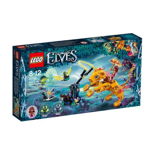 LEGO ELVES Azari и преследването на огнения лъв 41192