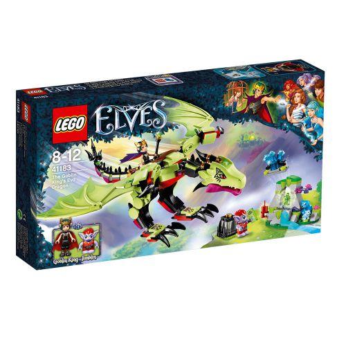 LEGO ELVES Злият дракон на краля на гоблините 41183
