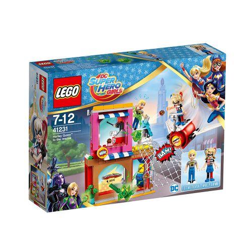 LEGO SUPER HERO GIRLS Харли Куин™ идва на помощ 41231