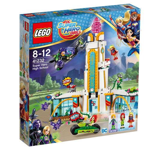 LEGO SUPER HERO GIRLS Гимназия за супергерои 41232