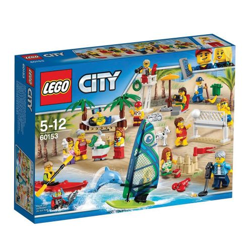 LEGO CITY Пакет с хора – забавление на плажа 60153