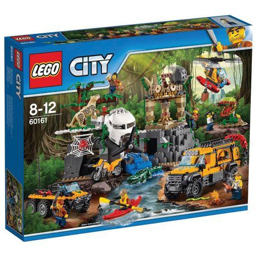 LEGO CITY Джунгла – място за изследвания 60161