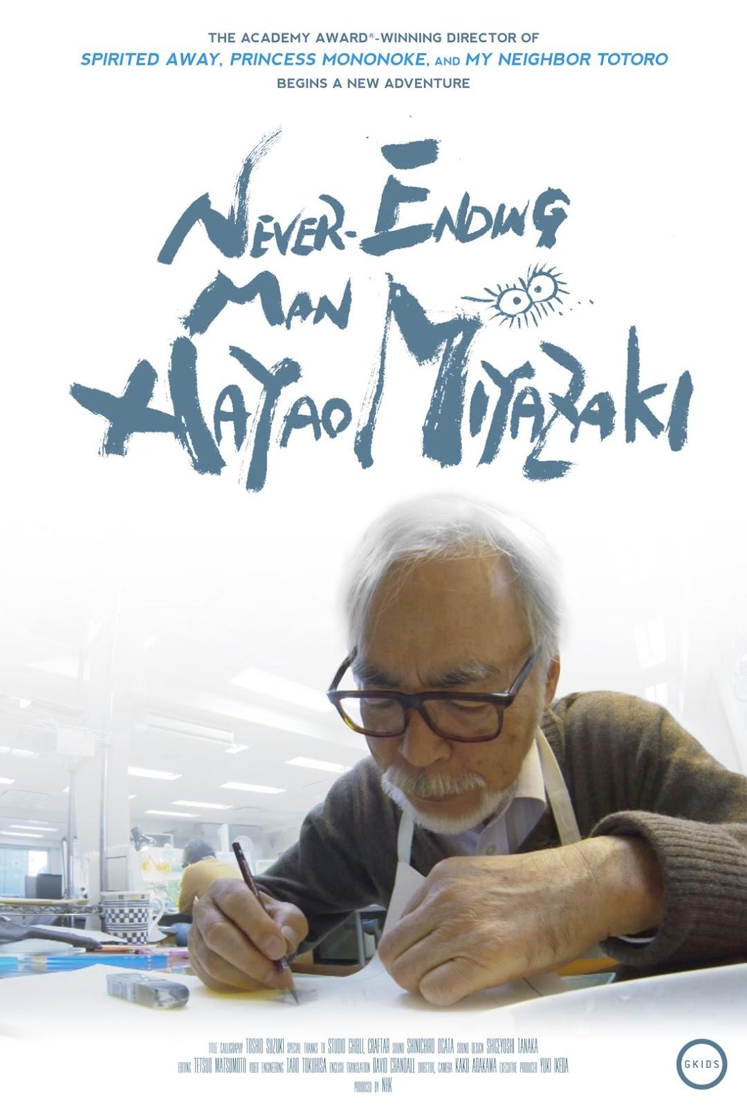 Never-Ending Man Hayao Miyazaki Pittsburgh