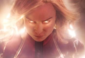 """Нов трейлър и плакат на """"Капитан Марвел"""" с Бри Ларсън и Джуд Лоу"""